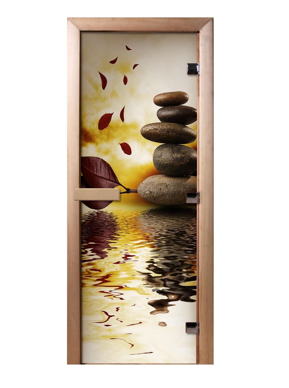 Дверь стеклянная фотопечать А056 1900х700