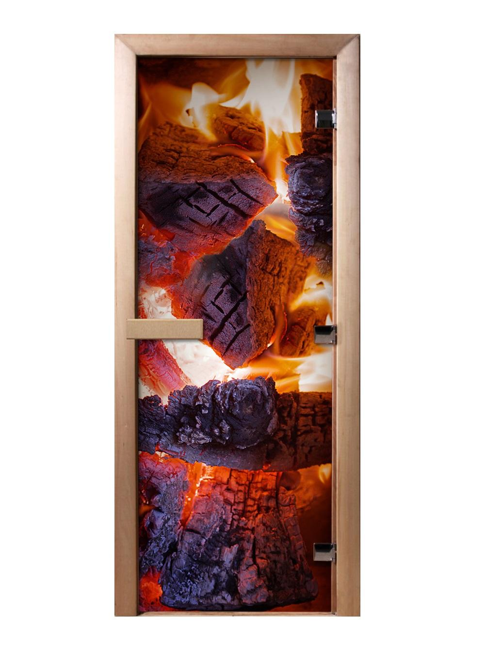 Дверь стеклянная фотопечать А060 1900х700