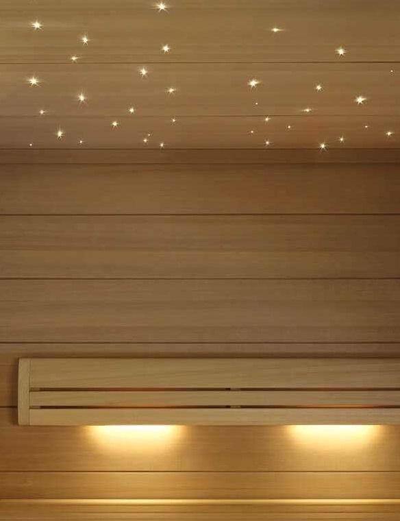 Освещение «Звездное небо» sauna Led Light