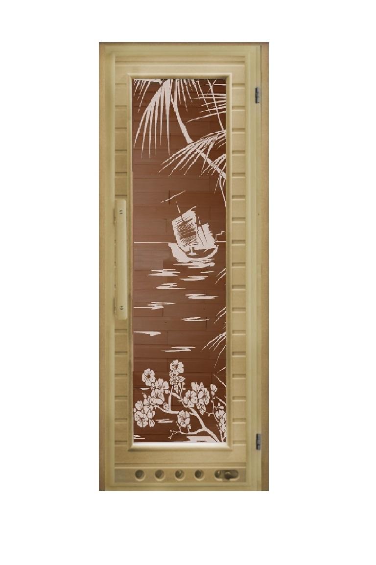 Дверь Элит с вентиляцией «Голубая лагуна»
