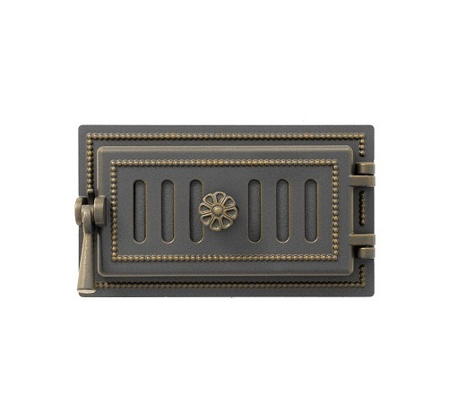 Дверка Везувий Поддувальная 236 (Бронза)