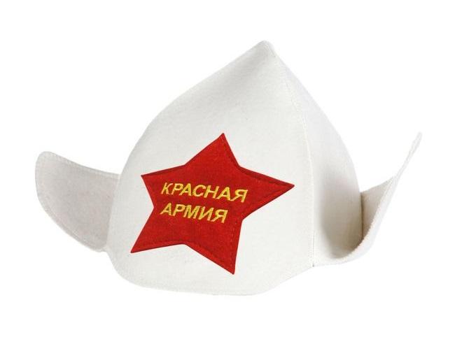 Буденовка «Красная Армия» белая