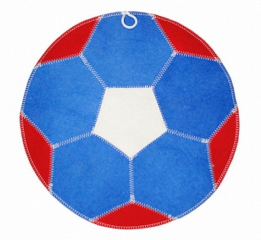 Коврик «Мяч» триколор