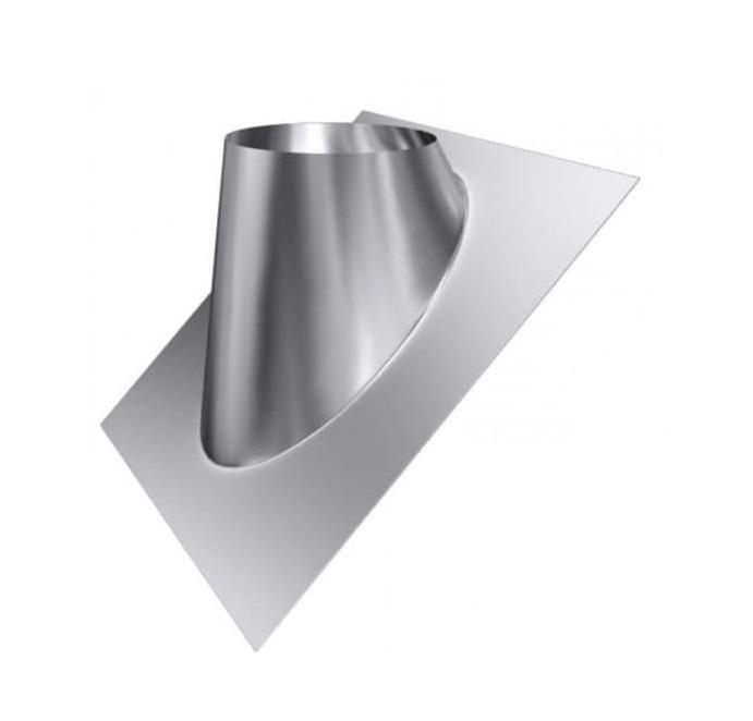 Крышная разделка угловая (430/0,5 мм) Ф150