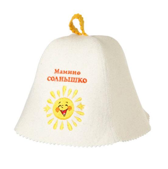 Шапка детская «Мамино солнышко»