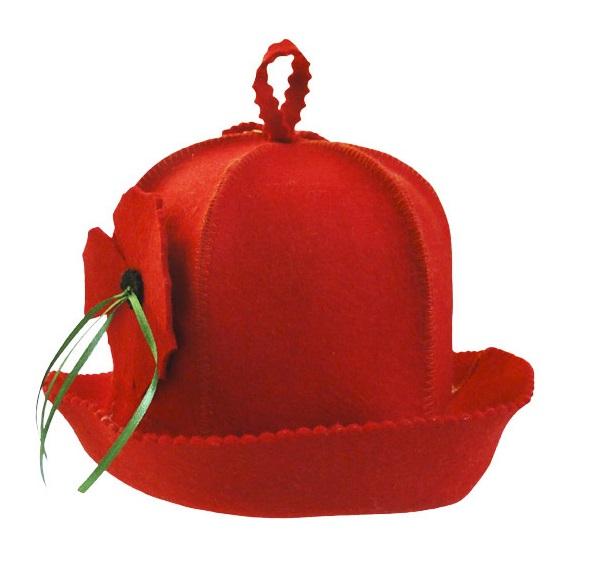 Шапка «Флирт» красная