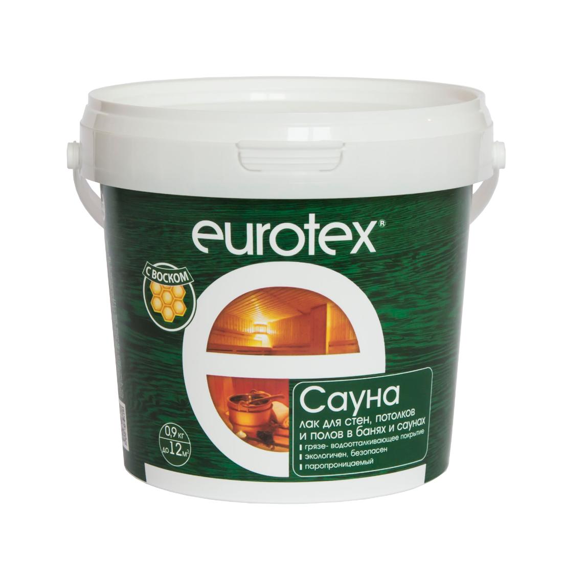 Eurotex-Сауна защитное покрытие 0,9кг