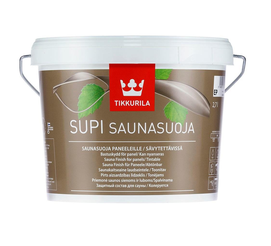 «Supi Saunasuoja» пропитка для саун 2,7л