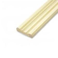 Раскладка сосна 30*2500 мм фигурная (клееная)