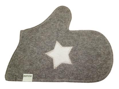 Рукавица «Звезда» серый