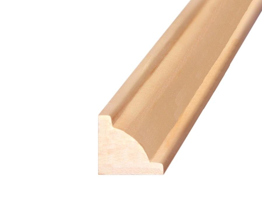 Раскладка угловая липа 15*2200 мм