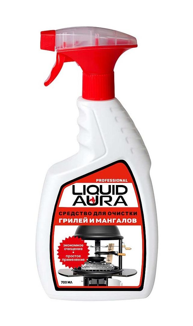 Для чистки каминных стекол Liquid Aura 700 мл