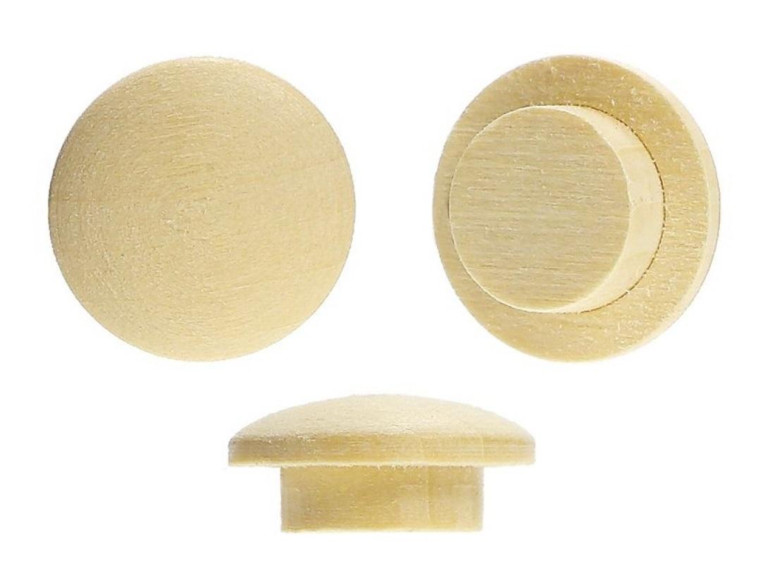 Заглушка на отверстие D-10 (15/10 мм) липа
